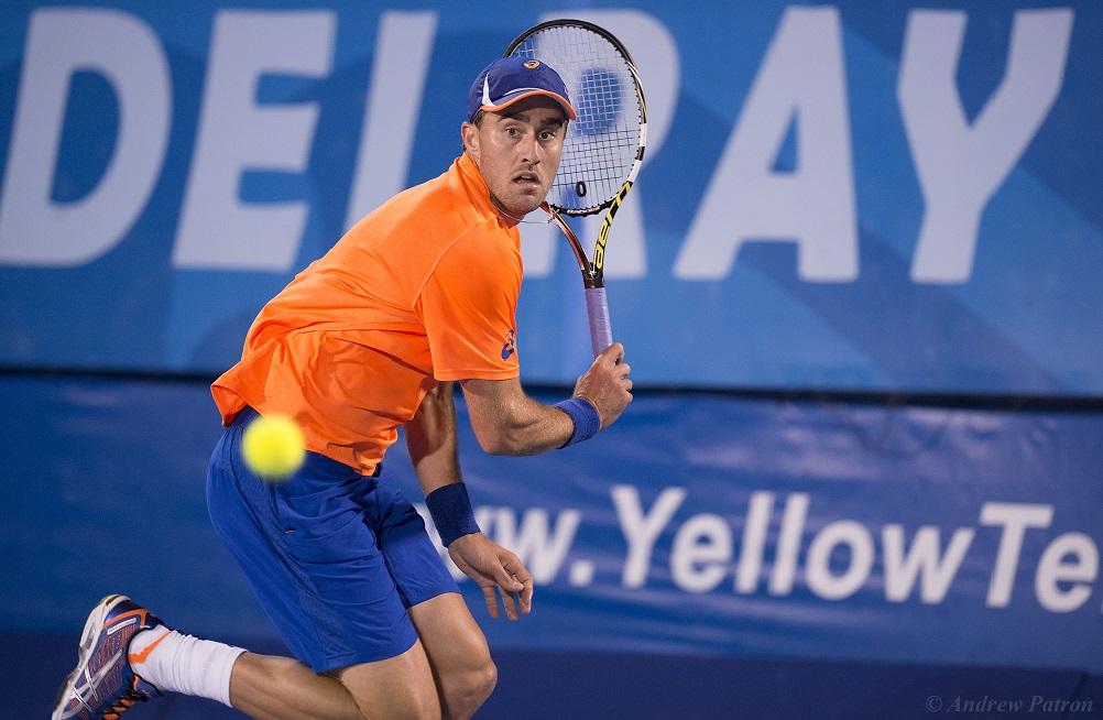 Tennis - 2015 ATP World Tour 250 - The Delray Beach Open by The Venetian Las Vegas - Delray Beach, U.S.A - Day 3 - Wednesday 18 February 2015