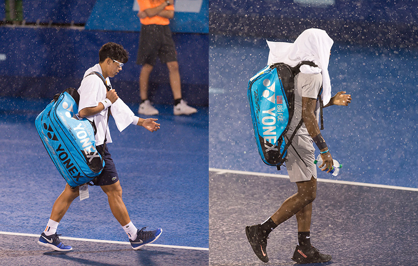 Delray Beach Open Rain Delay