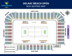 Final Box Seat Map - Delray Beach Open on