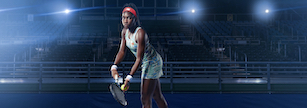 Coco Gauff for New Balance Tennis